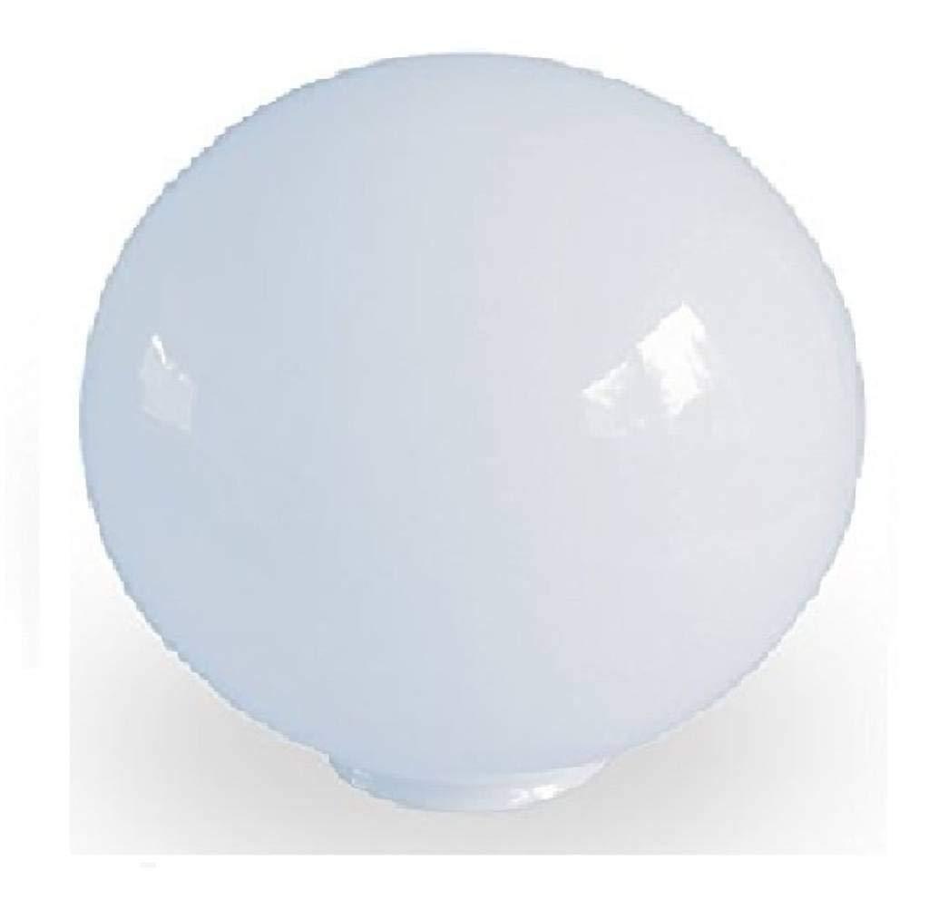 10.0cm diamè tre Verre Blanc Sphé riques Abat-jour. Circonfé rence: 31cm, Col (largeur exté rieure): 5.5cm dia., Trou: 4.6cm dia. [é clairage lumiè re ballon rond sphè re remplacement lustre globe]