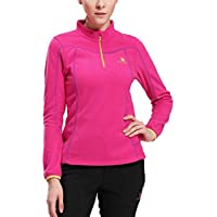 Camel Mens/Womens Zip Fleece Lightweight Polar Fleece Pullover Jacket for Fall and Winter (Various Colors & Sizes)