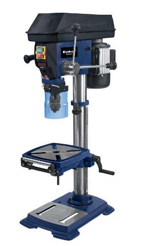 Einhell Säulenbohrmaschine BT-BD 801 E (550 W, Spindeldrehzahl 450-2500 min-1, Bohr-Ø 3-16 mm, Bohrtiefe 80 mm, stufenlose Tischhöhenverstellung)