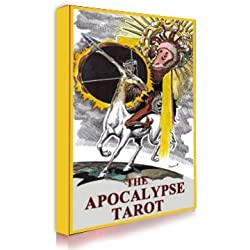 Tarot of the Apocalypse. Original tarot deck. Full 78 cards tarot deck. Tarot deck reading tool