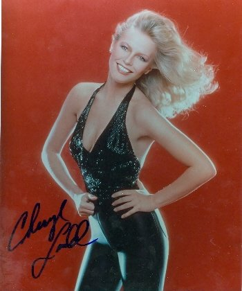 Autograph Warehouse 28703 Cheryl Ladd Autographed 8 x 10 Photo Charlie Angels