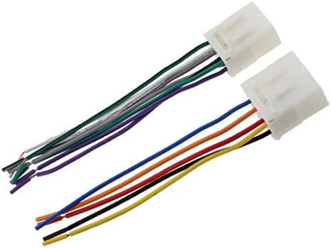 カーラジオ CDプレーヤーワイヤ ハーネス ケーブル 配線 Mazda 323 626 MX3 MX5対応