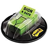 Post-it® High Volume Flag Dispensers FLAG,SIGN & DATE DISP,BRG (Pack of8)