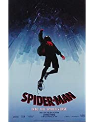 """Spider-man into the Spider-verse 2018 Movie Poster B 2 sided 11 1/2"""" X 17"""""""