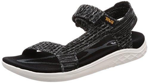Negro Sandalia para Teva Universal Terra Knit 2 SS18 Float Ias Caminar 1v6wp