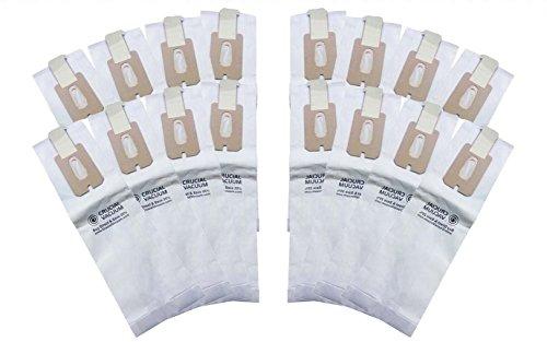 16 Oreck Vacuum CC Bags - High Efficiency Allergen Bags -