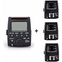 EACHSHOT MK-GT600N I-TTL Multi Modes HSS Flash Transmitter + 3 Receivers For Nikon