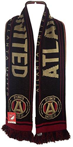 Official MLS Atlanta United Scarf - Split Crest - 7 Designs
