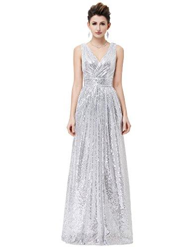womens-sleeveless-deep-v-neck-dress-long-party-dresses-silver-size-2-kk199