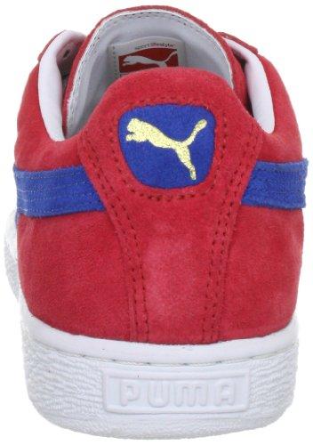 Puma Suede Classic + - Zapatillas para hombre rojo - Rot (ribbon red-puma royal 51)