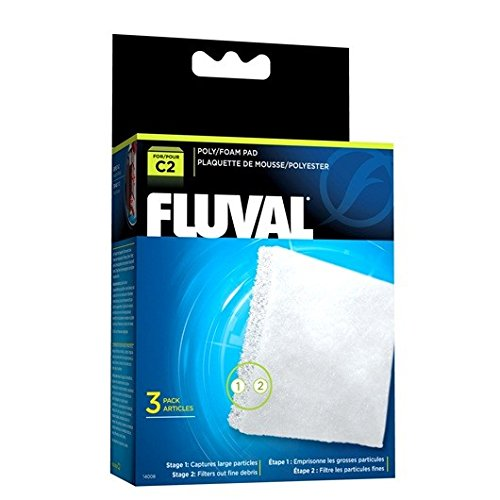 Fluval C2 Poly Foam Pad - 3-Pack ()