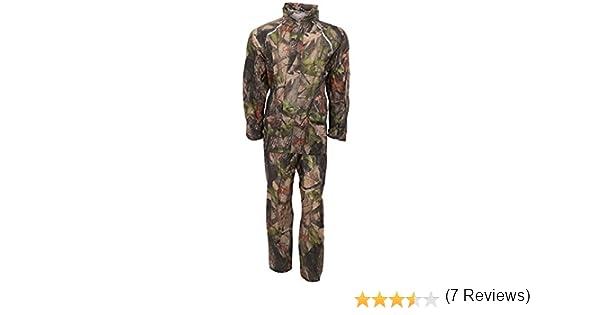 ProClimate - Traje lluvia Impermeable Modelo Camuflaje hombre caballero (Mediana (M)/Verde militar): Amazon.es: Ropa y accesorios