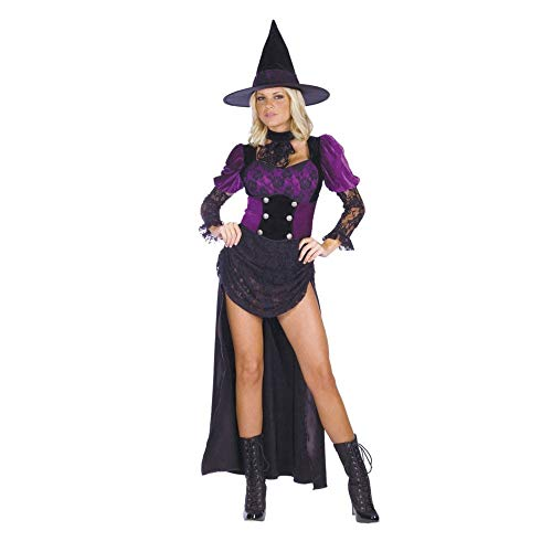 - Women's Burlesque Witch Costume