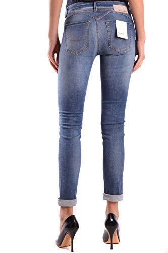 Coton Pinko Bleu FUJICO25G09 Femme Jeans tqqw7