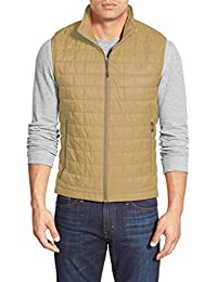to Mens Vest Quilted Zipper Padding Casual Lightweight S-XL Outdoor 1TOA0002