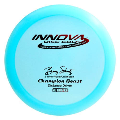 (Innova Disc Golf I-Dye Champion Material Beast Golf Disc, 173-175gm (Colors may vary))