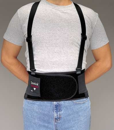 Back Support, Suspenders, XL