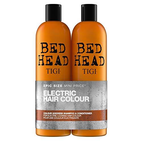 - Tigi Tigi Bed Head Colour Goddess Oil Infused Shampoo + Conditioner for Coloured Hair Duo Pack, 50 Oz