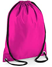 BagBase Budget Water Resistant Sports Gymsac Drawstring Bag