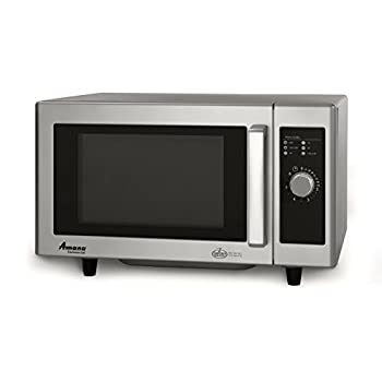 Image of Home and Kitchen Amana RMS10DS Light-Duty Commercial Microwave Oven with Dial Timer, Stainless Steel, 120-Volts, 1000-Watts