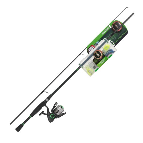 Ready 2 Fish Bass Spin Combo with - Ready Combo Fish 2