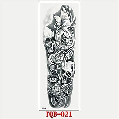 Handaxian 3pcs-Full Brazo Tatuaje Pegatina Brazo Completo Tatuaje ...