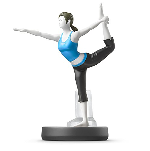 Wii Fit Trainer amiibo - Japan Import (Super Smash Bros Series) by Nintendo