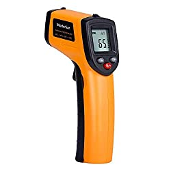 Non Contact Digital Laser Infrared Thermometer Temperature Gun 58℉~716℉ 50℃ 380℃ Aaa Battery Not Included