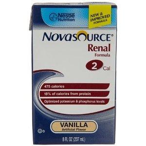Novasource Почечная Vanilla Brikpak 27 X 8 унций Дело ** 2 случаях требуется наличие специальных **