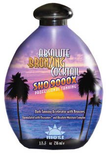 - SHO 9000x Absolute Bronzing Cocktail 13.5 Oz