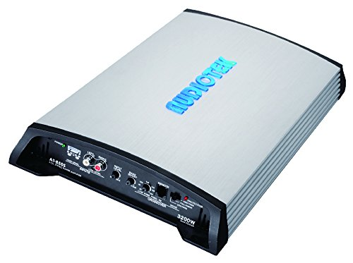 Audiotek At850S 2 Channels Class Ab 2 Ohm Stable 3200W Stereo Power Car Amplifier W/Bass Control by Audiotek