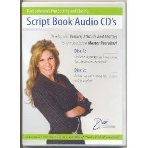 Dani Johnson's Prospecting and Closing Script Book & Script Book Audio CD's ()