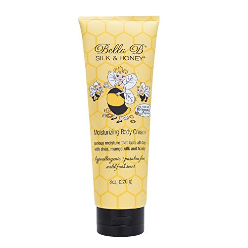 Honey Body Cream - Bella B Silk and Honey - 8 oz