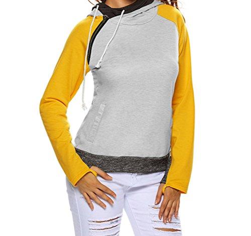yeeatz-yellow-grey-patchwork-double-hooded-sweatshirtsizes