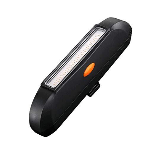 Luces traseras para montar en la noche Luces traseras para montar en la COB de tres colores Luces de advertencia para montar...