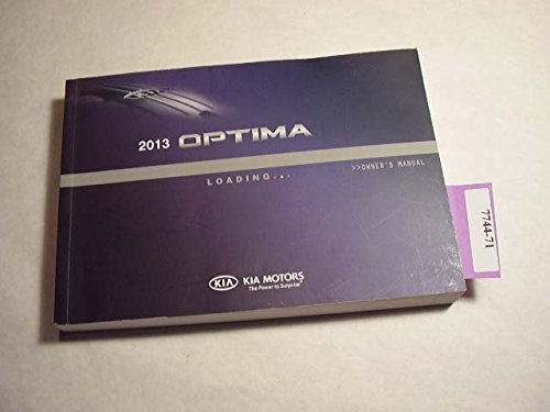 (2013 Kia Optima Owners Manual)