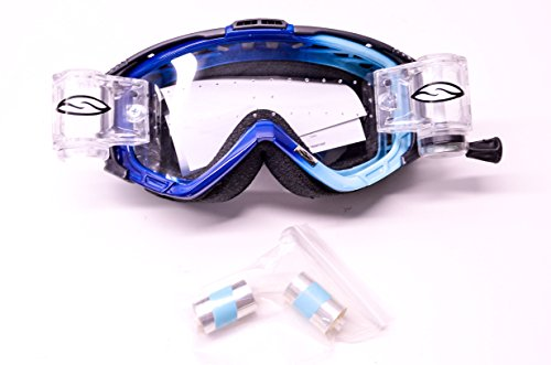 - Intake Sweat X Racer Pack Series Clear Lens Navy Sky Goggle