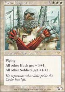 (Magic: the Gathering - Aven Brigadier - Onslaught - Foil)