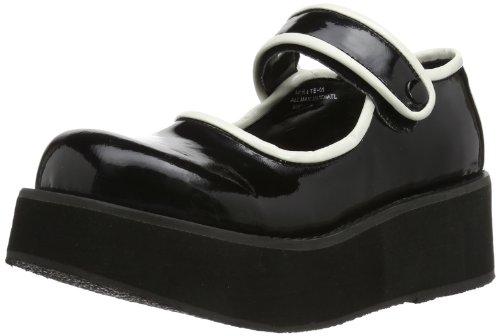 01 SPRITE Demonia femme chaussures bateau UwFCqZxP4