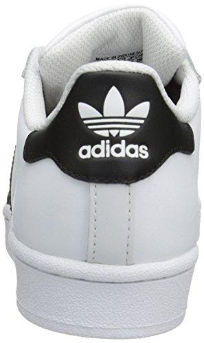 adidas Originals Superstar Unisex-Kinder Sneakers Weiß (Footwear White / Core Black 0)