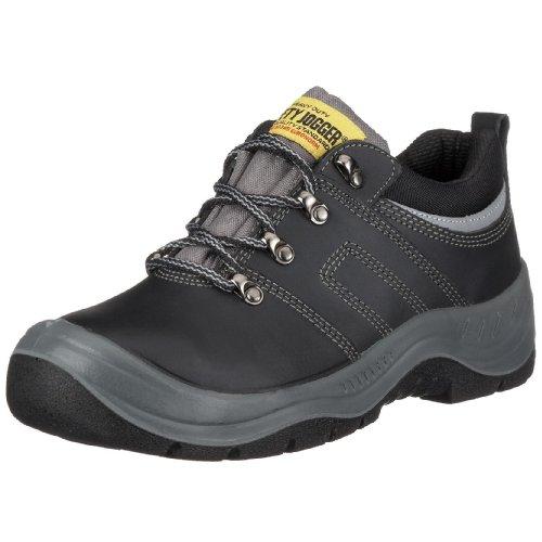 Safety Jogger FORCE1, Unisex - Erwachsene Arbeits & Sicherheitsschuhe S3 Schwarz (Blackblkblack)