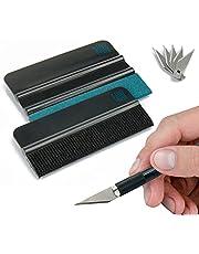 Rakelset van KING KONG STATE® - Hoogwaardige Tools voor Plakfolie Aanbrengen met Precisiemesje en Folierakel - Rakel met viltrand