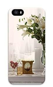 TYH - iPhone 5 5S Case Indoor Flower Arrangements 3D Custom iPhone 5 5S Case Cover phone case