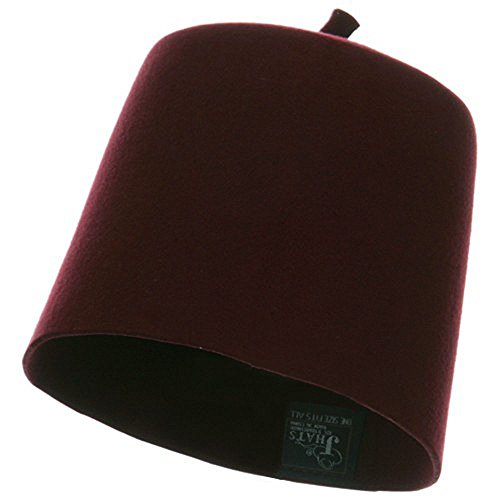 Fez Hat - Wool Felt Material