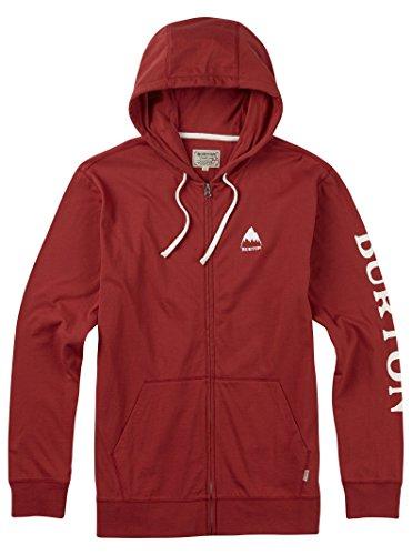 Burton Jersey Hooded (Burton Elite Full-Zip Hoodie, Tandori, Large)