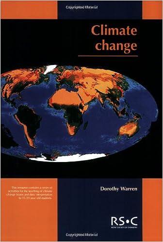 Climate Change: RSC: Dorothy Warren, Maria J Pack: 9780854049547 ...