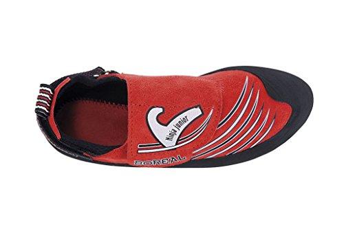 rojo negro niño para Zapatos Ninja Boreal deportivos Junior nw0ZUxqY