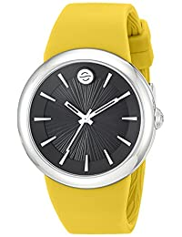 Philip Stein Unisex F36S-LCB-Y Colors Analog Display Japanese Quartz Yellow Watch