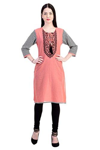 hot pink anarkali dress - 7
