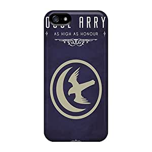 Ideal Harries Case Cover For Iphone 5/5s(game Of Thrones House Arryn), Protective Stylish Case